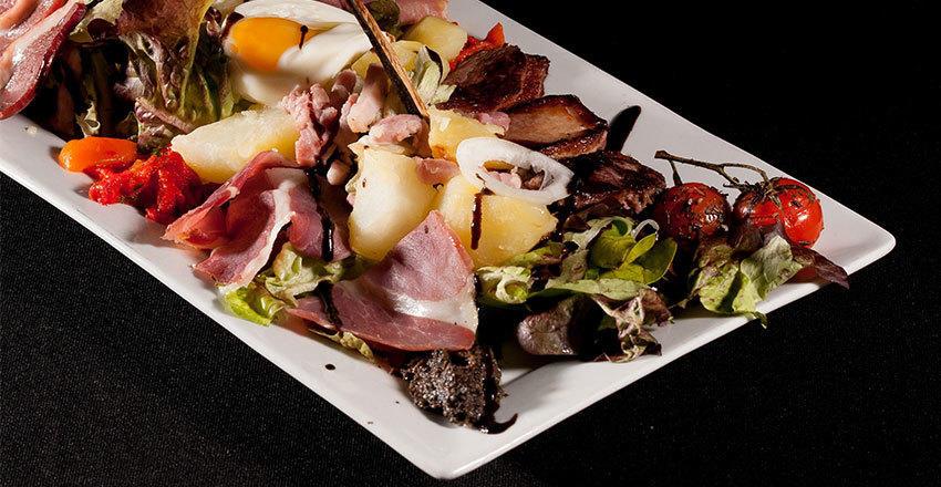 Salade de saison à Lunel
