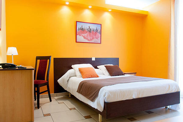 Double room in the hotel Mon Auberge (Lunel)