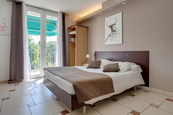 Chambre double à l'hôtel Mon Auberge (Lunel)